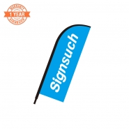 Replacement Flat 2.4M feather banner