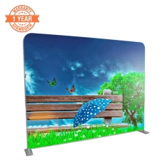Straight 298cm Stretch Fabric Display