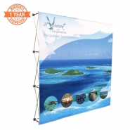 8FT-3x3 Straight Pop up display kits