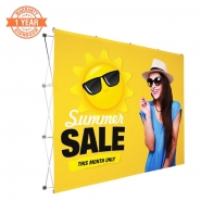 10F-3x4 Straight Pop up display kits